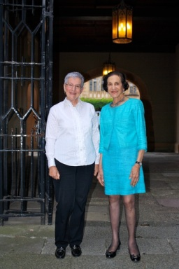 Catherine and the Choir's Patron, HE Professor Marie Bashir