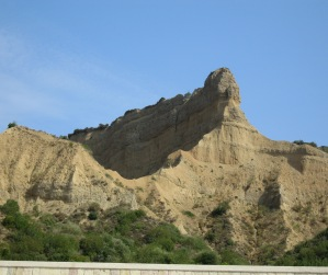 The Sphinx - Anzac Cove. (Image courtesy R O'Neale)