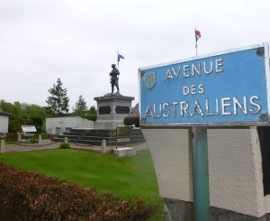 Mont St Quentin monument. Photo: S Shipard