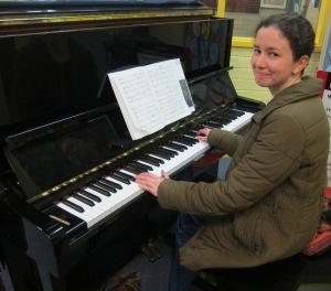 Amy - grad choir accompanist