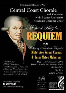 CCC Haydn Requiem