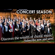 Subscribe now to our 2016 concert season